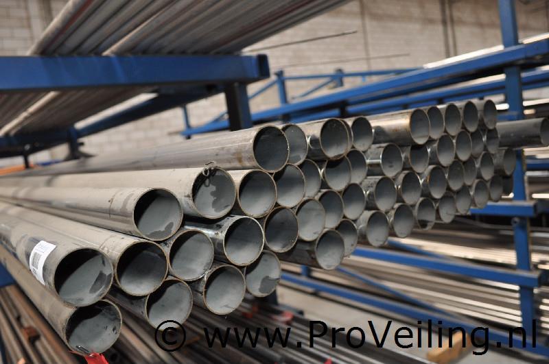 Veiling van diverse (nieuwe) Metalen & RVS buizen te Drachten