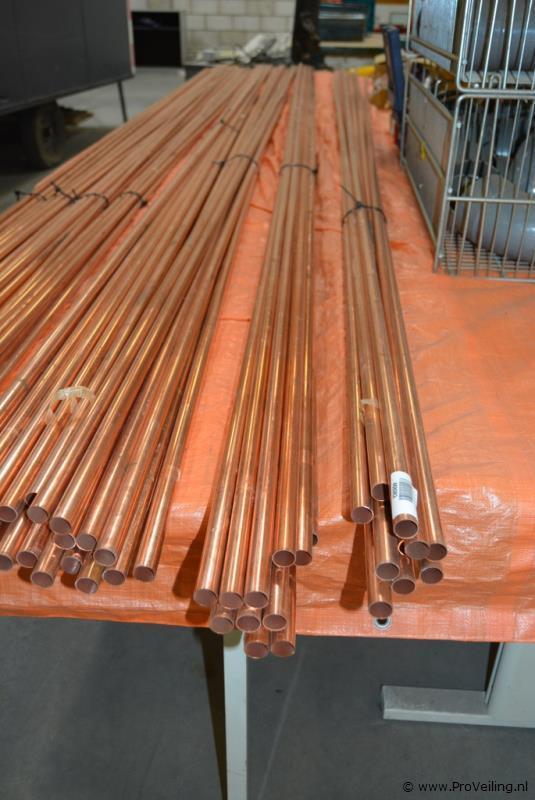 Faillissementsveiling voorraad en inventaris Installatiebedrijf UTW Noord B.V. met o.a. diverse bouwgerelateerde goederen (opgeslagen te Drachten)