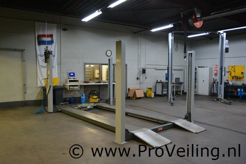 """Faillissementsveiling complete werkuitrusting van """"Autobedrijf Geene  B.V."""" te Heijen"""