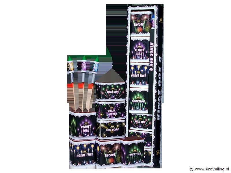 Veiling van diverse soorten siervuurwerk pakketten te Beerze