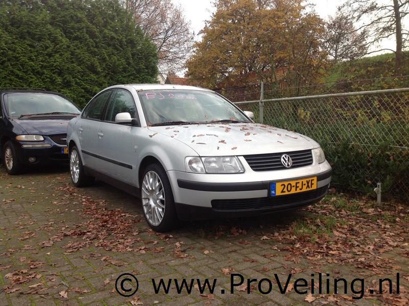 Veiling van diverse personenauto's te Arnhem