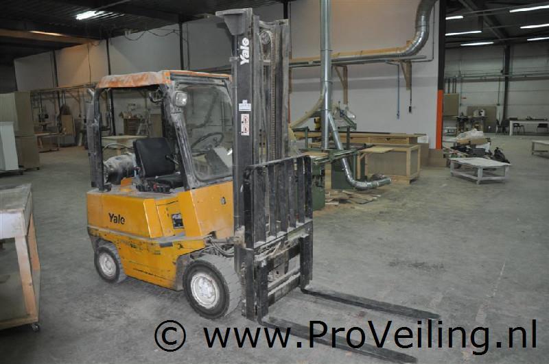 Faillissementsveiling voorraad en inventaris Emitrex-Logistics B.V. te Almere