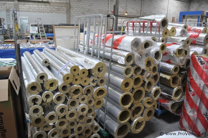 Faillissementsveiling van diverse goederen met o.a. Installatie & isolatiematerialen te Drachten
