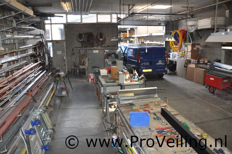 """Faillissementsveiling voorraad en inventaris """"Installatiebedrijf Akkerman B.V."""" te Vlaardingen - deel II"""