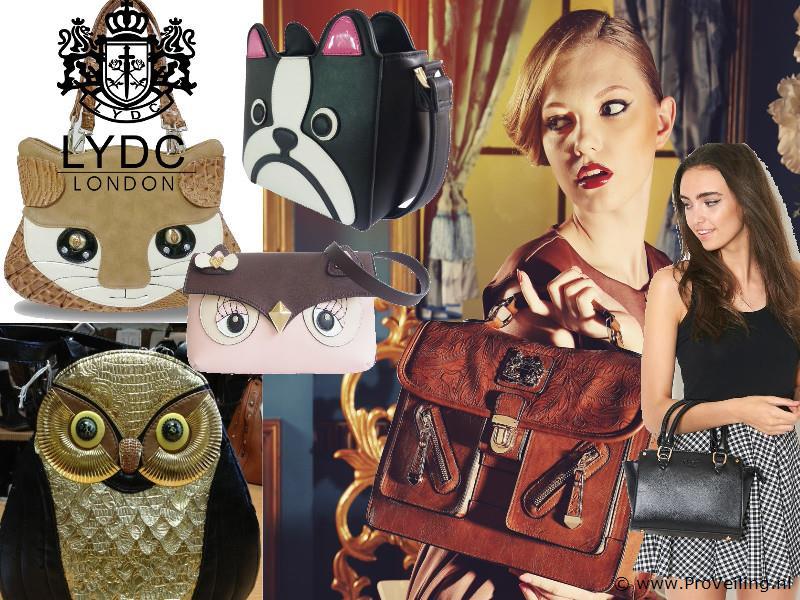 Veiling van diverse soorten tassen, portemonees, horloges van het merk LYDC & Anna Smith incl. diverse domeinnamen en bedrijfsinventarissen etc.