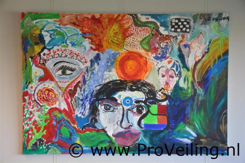 Faillissementsveiling voorraad schilderijen & tekeningen Dhr. A. van Dijk (Opgeslagen te Drachten)