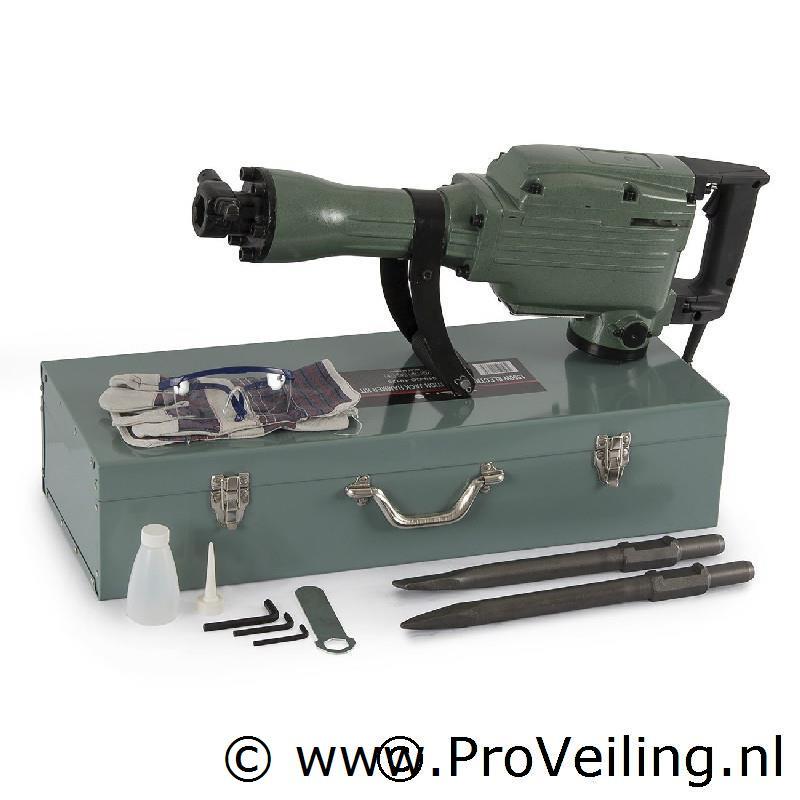 Veiling van diverse gereedschappen o.a. generatoren, breek/sloophamers, 4 in 1 bosmaaiers etc. (Gratis verzending)