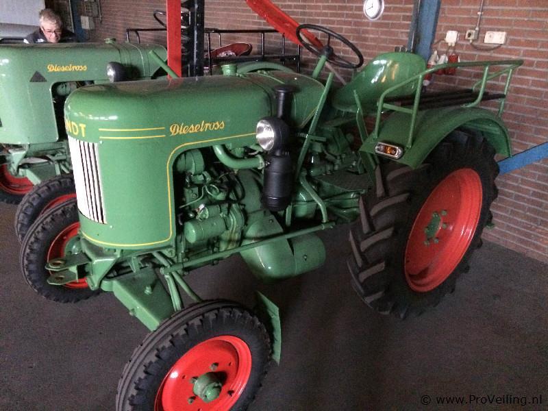 Veiling van diverse klassieke Fendt Dieselross tractoren te Staphorst