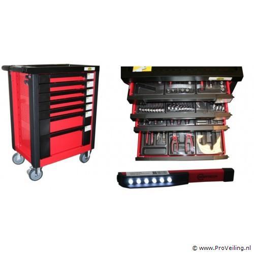 Veiling van diverse gereedschapswagens (Gratis verzending)