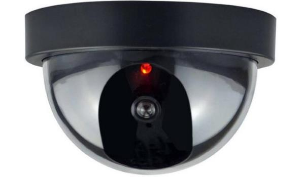 Beveiligingscamera Dome met sensor, dummy, Led 3x