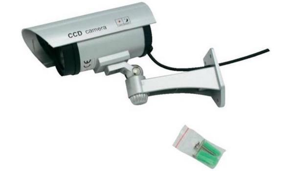 Beveiligingscamera met sensor, dummy, Led 3x