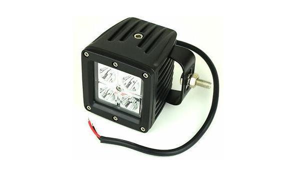Verstralers LED 12/24 volt, 4x
