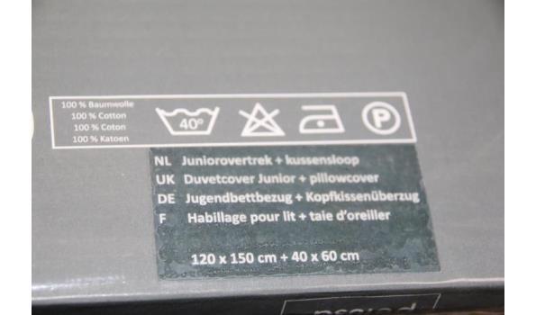 Pelusa juniorovertrek en kussensloop - 120x150cm/40x60cm - ca. 7 stuks