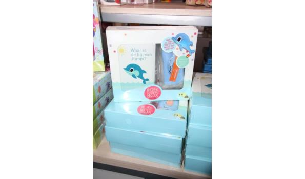 Boek Cadeau box + zelfmaakpakket - ca. 5 stuks