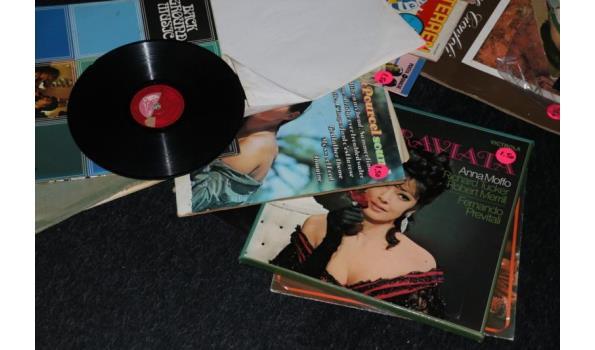 Diverse grammofoonplaten