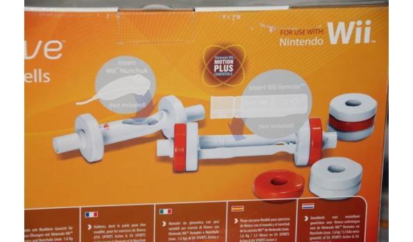 WII Nintendo dumbbels met verstelbare gewichten - 1,6 kg/3,5 kg