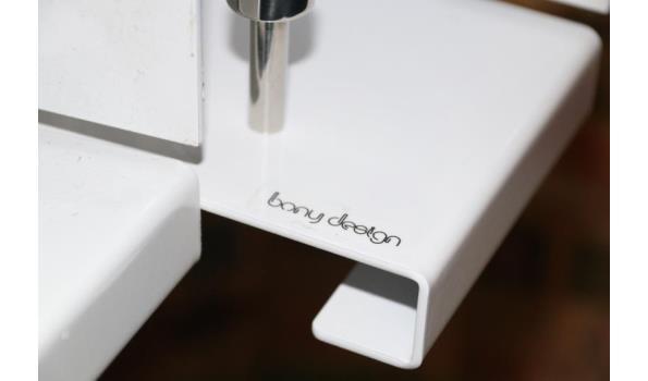Bony design hangkapstok - ca. 4 stuks
