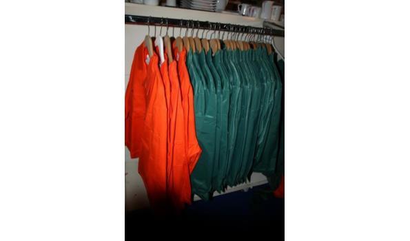 Diverse Sanfor herenwerkkleding - ca. 30 stuks