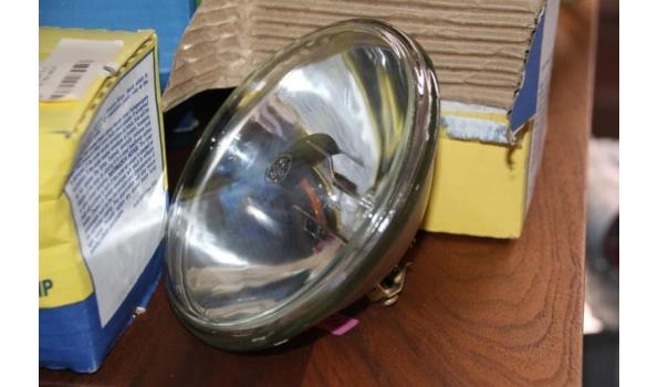 Sealed beam lamp - ca. 4 stuks