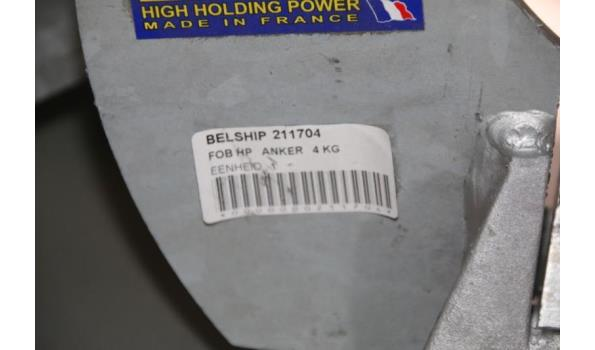 FOB HP anker - 4kg