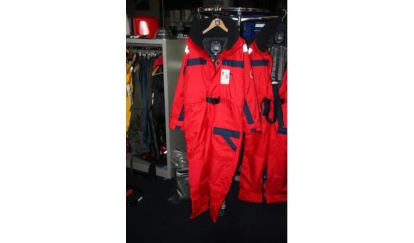 Marinepool zelfdrijvend overlevingspak - maat S