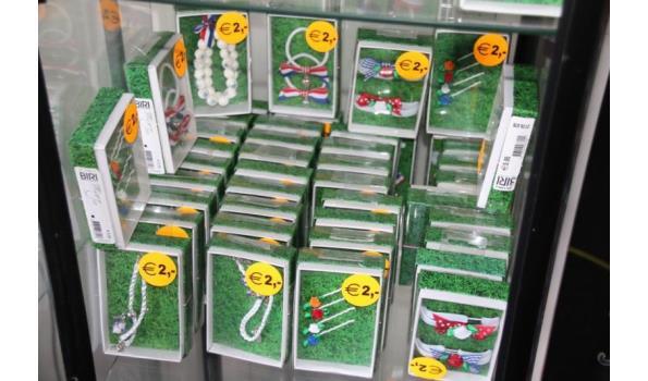 Diverse Sieraden & Accessoires en accessoires in Hollandse kleuren - ca. 40 stuks