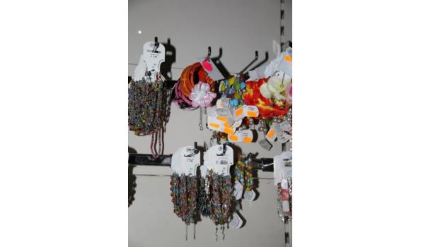 Diverse armbanden en oorbellen