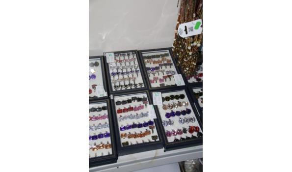 Partij ringen in displaydozen