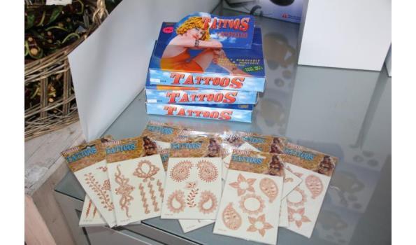 Removable tattoos - ca. 3 dozen