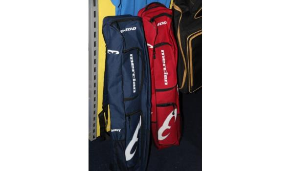 Diverse Mercian hockeytassen - ca. 4 stuks - New Balance shirts
