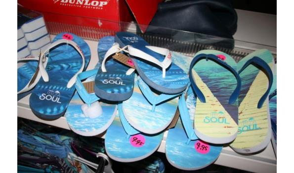 Ibiza Soul slippers - diverse maten - ca. 7 paar