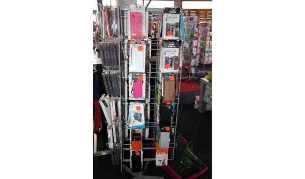 Diverse telefoonhoesjes en screen protectors - ca. 22 stuks