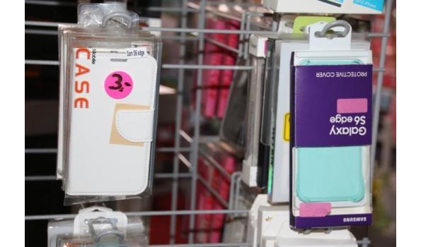 Diverse telefoonhoesjes - ca. 55 stuks