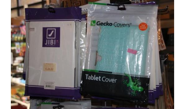 Diverse hoezen voor tablet - ca. 20 stuks