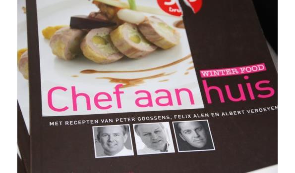"""Boek """"Chef aan huis"""" - 3 stuks"""