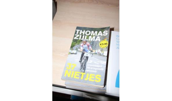 Boeken o.a. Thomas Zijlma, Patrick Modiano - ca. 8 stuks
