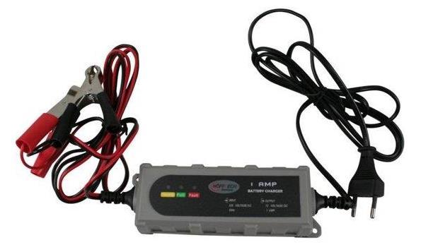 Druppellader 12 volt, 1 AMP.