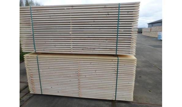 Steigerplanken/steigerhout 250 cm 30 x 200 mm