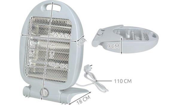 Quartz Kachel / Heater, 2x