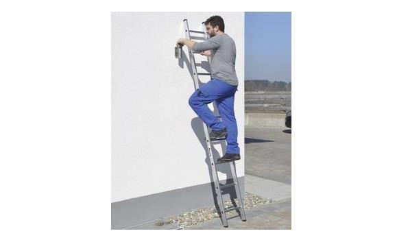 Ladder enkel, Aluminium Lichtgewicht, 9 sporten