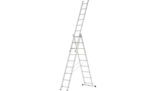 Reformladder, Aluminium Lichtgewicht, 3x9 sporten met stabilisatiebalk