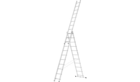 Reformladder, Aluminium Lichtgewicht, 3x11 sporten met stabilisatiebalk