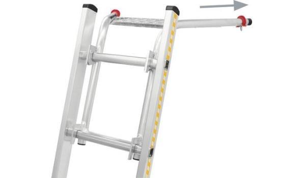 Afstandhouder, Aluminium, Lichtgewicht, verstelbaar