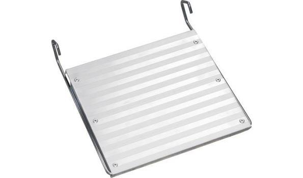 Voetbordes, Aluminium, Lichtgewicht