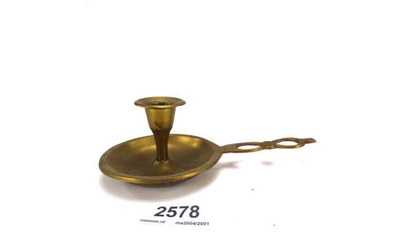 Antieke koperen blaker