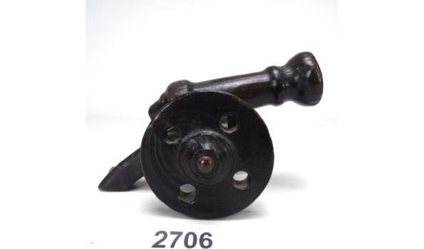 Houten kanon