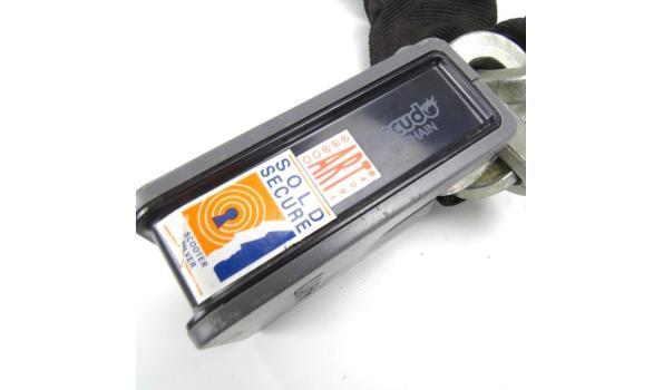 Luna Art gecertificeerd scooter slot. Met beide sleutels