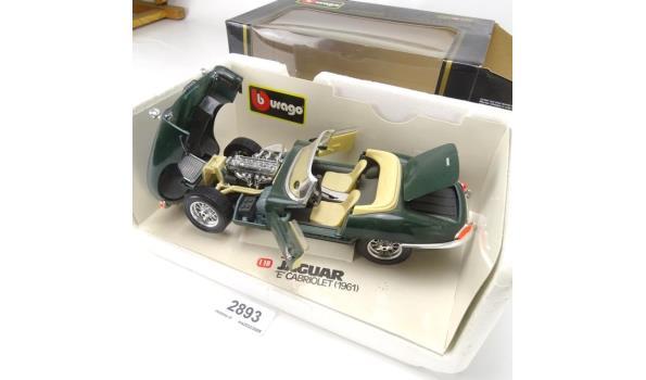 """Burago Jaguar """"E"""" cabriolet 1961"""