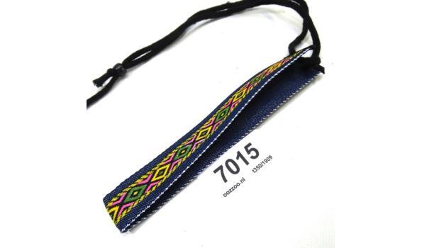 Vintage  halsband / haarband met brokaat borduursel