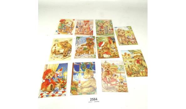 11 ansichtkaarten